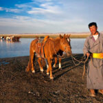 Our lovely conservationist mates: The nomads of the Mongolian Steppe!